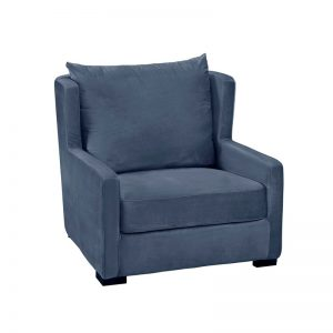 austin stol, blå